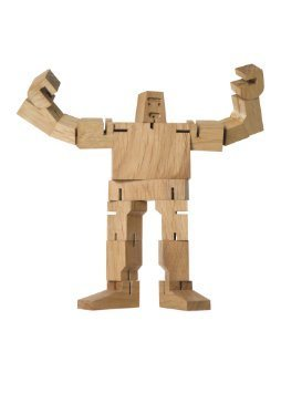 AREAWARE: Micro Guthrie Cubebot (natural)