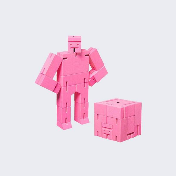 AREAWARE: Small Cubebot (pink)