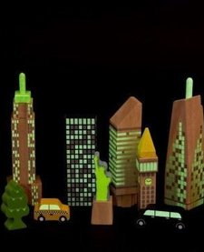 WONDERWORLD: CITY SKYLINE GLOW BLOCKS