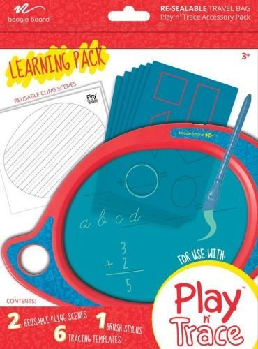 BOOGIE BOARD/KENT BOOGIE BOARD: PLAY AND TRACE TRAVEL BAG LEARNING PACK