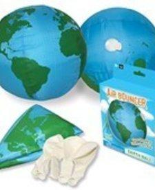 PLAYVISIONS:  AIR BOUNCER EARTH BALL