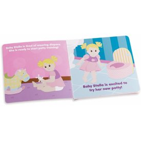 MANHATTAN TOY: Baby Stella My Big Girl Potty Book