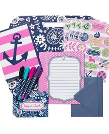 3C4G SUPER STATIONERY SET: ANCHORS AWAY
