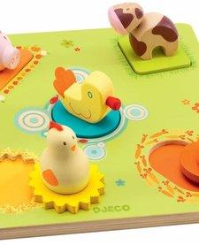 DJECO: 3D Wooden Puzzle - Bildi