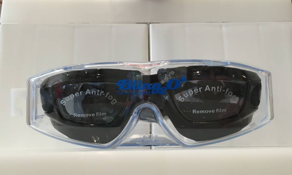 BLING 2O/PARR MARR BLING 2O: BLACK KNIGHT SWIM GOGGLES  (BOYS)