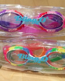 BLING 2O: SNOW CONE SWIM GOGGLES  (PURPLE/PINK)