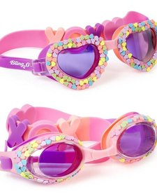 BLING 2O: CANDY HEARTS SWIM GOGGLES (HUGS AND KISSES CLASSIC OVAL)