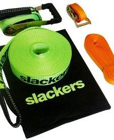 B4: SLACKERS CLASSIC SLACKLINE (BLUE OR GREEN ASSORTED)