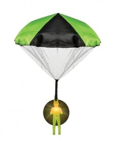 AEROMAX: Flashing Light-Up Tangle Free Toy Parachute