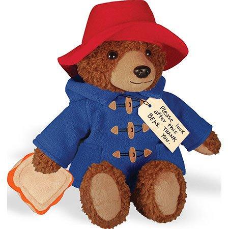 "Big Screen Paddington Bear 8.5"" Soft Toy"