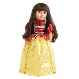Doll Dress Snow White