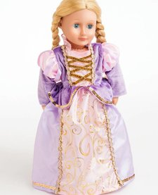 Doll Dress Classic Rapunzel