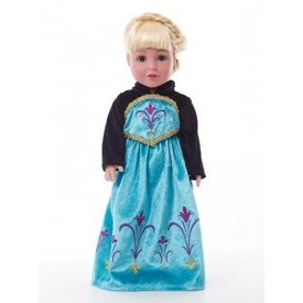 DOLL ICE QUEEN CORONATION DRESS