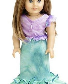 Doll Dress Mermaid