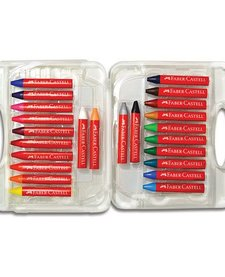 24ct Brilliant Beeswax Crayons in Storage Case