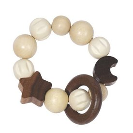 GOKI HEIMESS:  TOUCH RING WITH MOON AND STAR