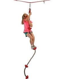 B4 ADVENTURE:  NINJA SLACKLINE CLIMBING ROPE WITH FOOTHOLDS