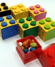 LEGO MINI LUNCH BOX 4 (BLUE)