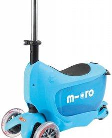 MICROKICKBOARD:  MINI 2 GO DELUXE - BLUE