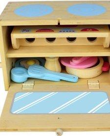 Bamboo Box Set Kitchen