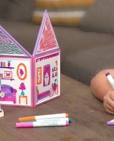 BUILD AND IMAGINE: DRAW AND BUILD DOLLHOUSE