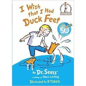 I WISH I HAD DUCK FEET:  DR. SEUSS