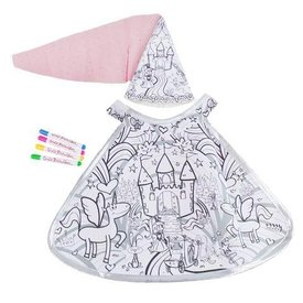 Colour A Princess Doll Costume