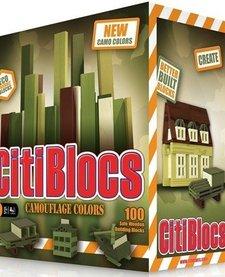 CitiBlocs Camo Color 100pc