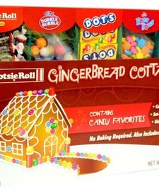 GINGERBREAD COTTAGE KIT:  TOOTSIE ROLL