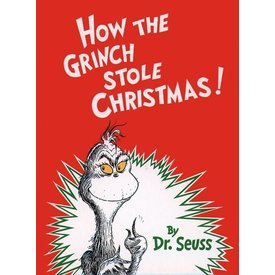 RH Childrens Books HOW THE GRINCH STOLE CHRISTMAS