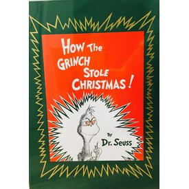 RH Childrens Books HOW THE GRINCH STOLE CHRISTMAS - DELUXE EDITION