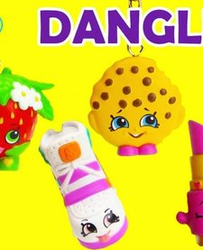 SHOPKINS DANGLER:  ASSORTED