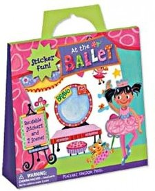 PEACEABLE KINGDOM:  AT THE BALLET REUSABLE STICKER TOTE