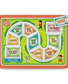 FRED AND FRIENDS:  DINNER WINNER KIDS PLATE