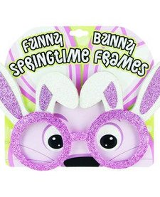 DM:  EASTER GLITTER GLASSES (ASST)