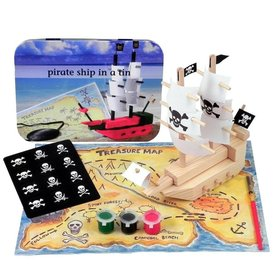 APPLES TO PEARS: PIRATE SHIP IN A TIN