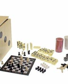 STREAMLINE:  6-IN-1 DICE CUBE GAME SET