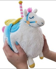 "SQUISHABLE:  7"" CAROUSEL HORSE, LIMITED EDITION"