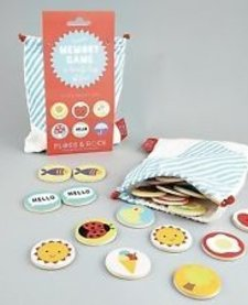 FLOSS AND ROCK:  BAGS OF FUN MEMORY GAME