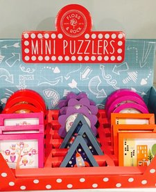 FLOSS AND ROCK:  MINI PUZZLERS