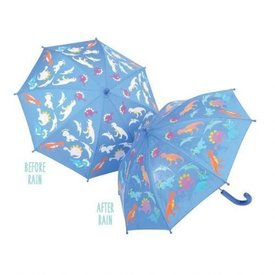 FLOSS AND ROCK FLOSS AND ROCK:  COLOR CHANGING UMBRELLA - DINO