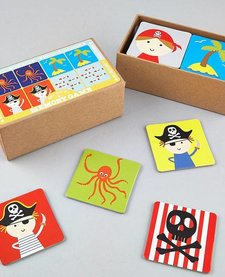 FLOSS AND ROCK:  MEMORY GAME - PIRATE