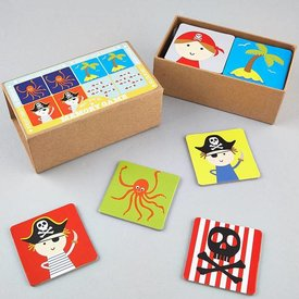FLOSS AND ROCK FLOSS AND ROCK:  MEMORY GAME - PIRATE