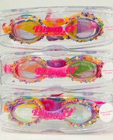 BLING 2O:  PENNY CANDY SWIM GOGGLES  - PINK PASTRY