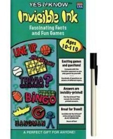 YES & KNOW AGES 10-110 INV.INK QUIZ BOOK