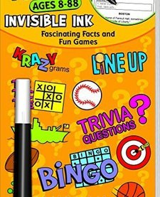 YES & KNOW AGES 8-88 INV.INK QUIZ BOOK