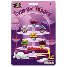 SMETHPORT PATCH: Finger Flickin' - Cupcake Topper