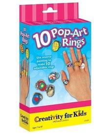10 Pop-Art Rings