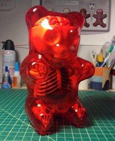 GUMMI BEAR ANATOMY: RED
