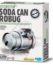 TOYSMITH: Soda Can Robug